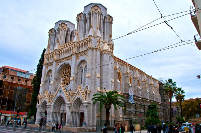 French church, Nice