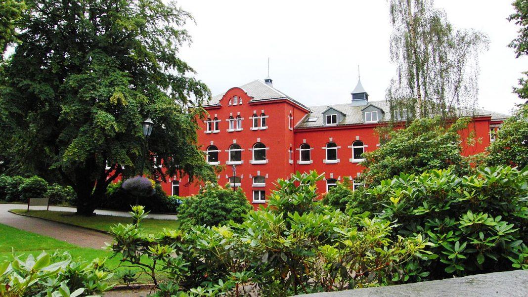 Bilde av administrasjonsbygget Haukeland Universitetssykehus